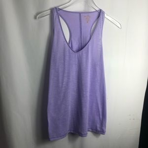 Lilly Pulitzer Luxletic Purple Tanks size small 0726